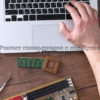 Ремонт крышки корпуса компьютера или ноутбука фото